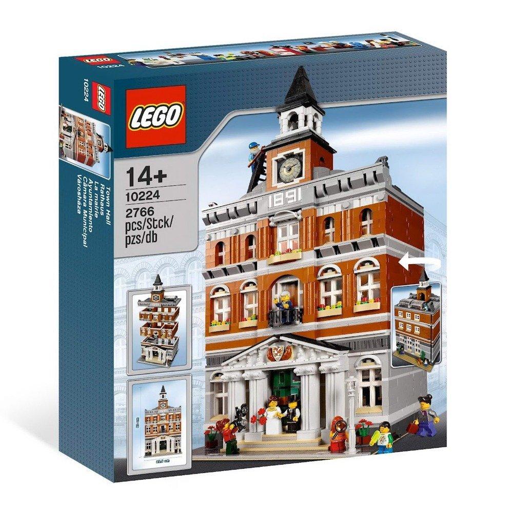 送料無料 新品 予約注文(2週間待ち)●LEGO レゴ 10224 Town Hall タウンホール ●