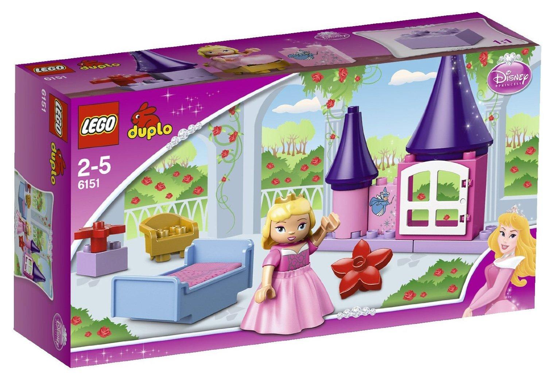 送料無料 新品●LEGO レゴ デュプロ プリンセス 眠れる森の美女のおへや LEGO 6151●