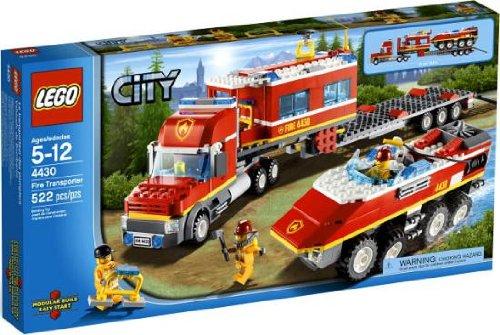 送料無料 新品●LEGO CITY Fire Transporter レゴ 4430 シティ ファイアートランスポーター 消防コマンドセンター●
