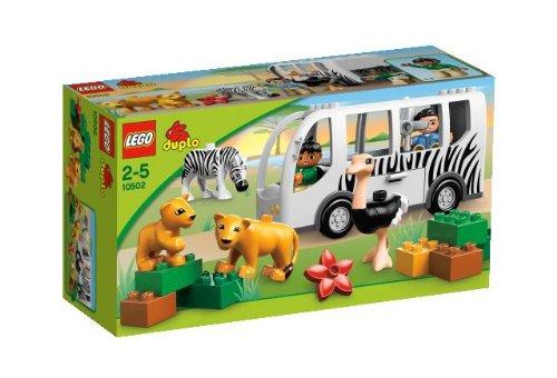 送料無料 新品 LEGO レゴ デュプロ どうぶつえんバス 10502