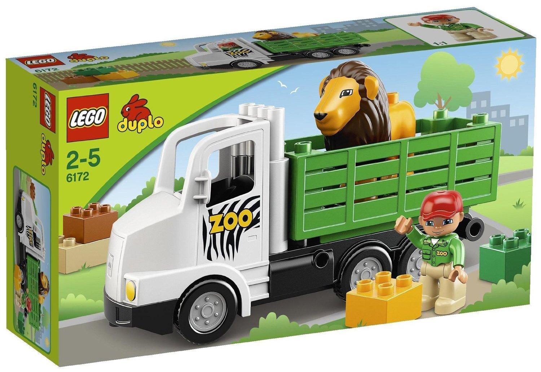 送料無料 新品●LEGO レゴ デュプロ どうぶつえんトラック 6172●