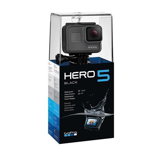 送料無料 新品●GoPro Hero5 Blackm●ゴープロ5 ブラック●日本語音声コントロール 4Kビデオ