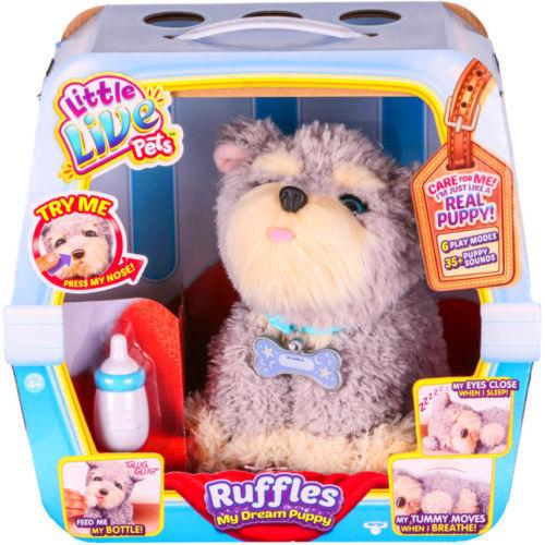 予約注文【約2週間待ち】 送料無料 新品 海外版 マイドリームパピー リトルライブペット RUFFLES おもちゃ