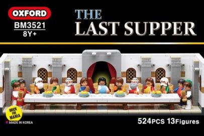 送料無料 新品●Oxford オックスフォード 最後の晩餐 THE LAST SUPPER  BM3521●韓国のおもちゃ TOY ブロック