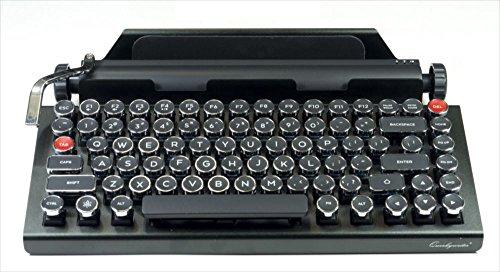 送料無料 新品●Qwerkywriter タイプライター型 Bluetoothキーボード●英語配列 百