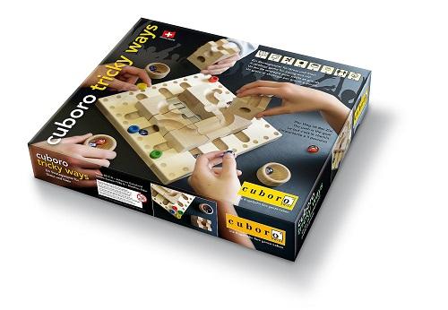 約2-3週間待ち 送料無料 新品 cuboro tricky ways キュボロ トリッキーウェイズ クボロ つみき 積み木 積木 木製 玩具 ブロック おもちゃ キュボロ 子供のおもちゃ