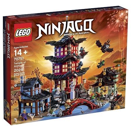 送料無料 新品●LEGO レゴ Ninjago 70751●ニンジャゴー エアー術の寺院