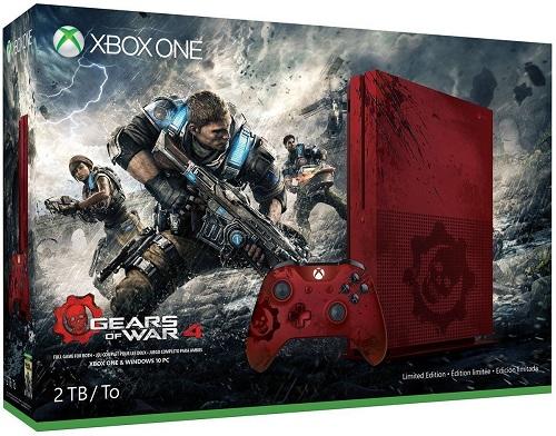 新品 送料無料●限定版 Xbox One S 2TB ギアーズ・オブ・ウォー4 ダウンロード●コントローラー付きセットXbox OneS Gears of War 4 Limited Edition