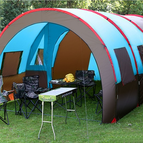 L New Tent Waterproofing Tunnel Camping Picnic Mountain