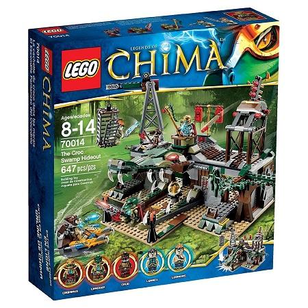 送料無料 新品●LEGO レゴ 70014●チーマ CHIMA ワニ族 隠れ家要塞 The Croc Swamp Hideout