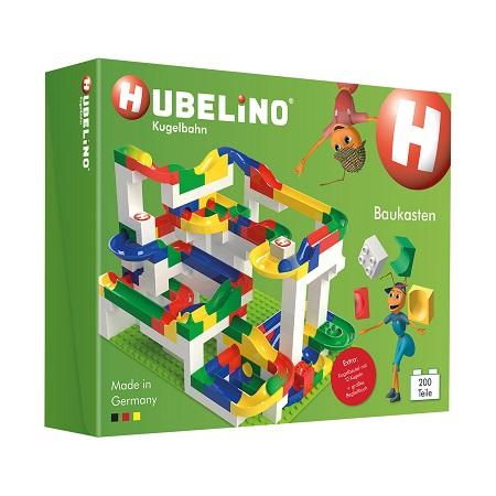 送料無料 新品 Hubelino 200ピース マーブルラン ジャイアントキット 知育玩具 おもちゃ 子供のおもちゃ ビルディングブロック
