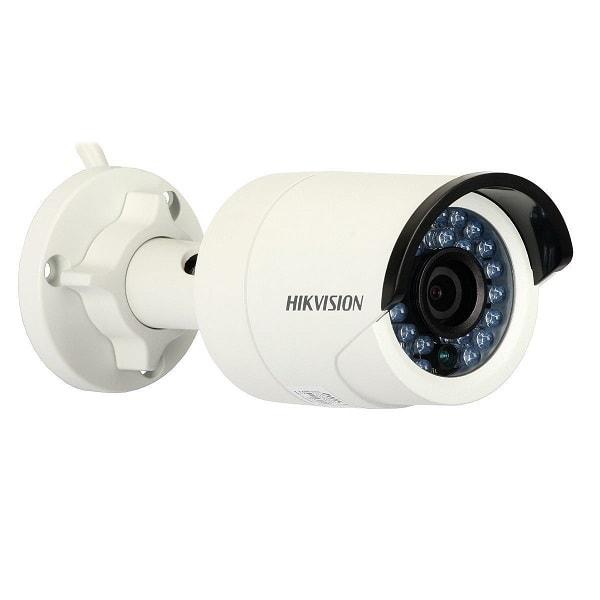 送料無料 新品●Hikvision ボックス型 IR対応ネットワーク防犯カメラ PoE対応●IR 赤外線 夜間 暗視 監視カメラ 監視 防犯 ネットワークカメラ 有線LAN 百