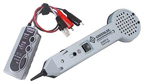 新品 送料無料 Greenlee グリーンリー 711K 200EP/77GX トーン プローブ Professional Tone&Probe Tracing Kit プロフェッショナル トーンプローブ 日本語説明書(701K-G用でよろしければお付けします) 探索 LEDライト付き 電話工事 配線