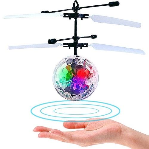 おもちゃ 送料無料 SALE 新品 税込 全品 P5倍 宙に浮く 光る フライングボール Flying 箱無し 手の上で浮く 倉庫 USBケーブル 子供のおもちゃ ヘリコプター Ball フラッシュ