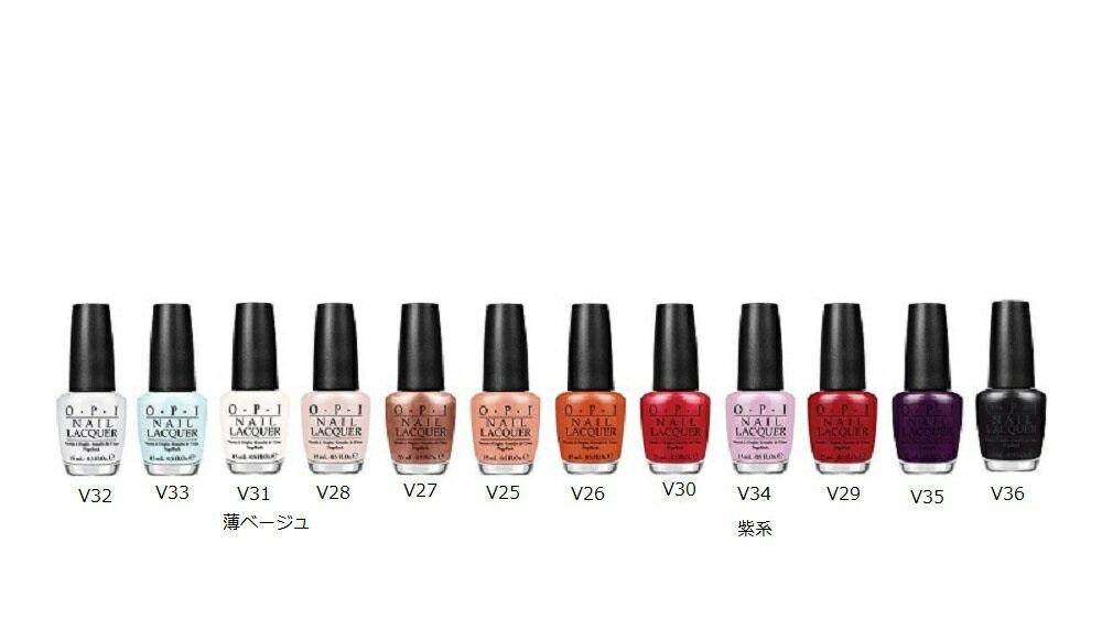L: New OPI nail lacquer Venice collection NL V25-V39 15 ml Venice ...