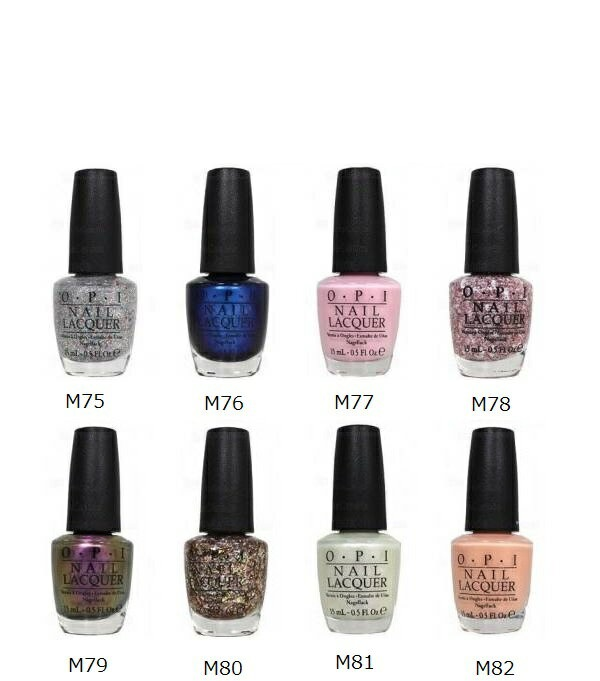 L: 15 ml of new ○ new color OPI nail lacquer Muppets collection M75 ...