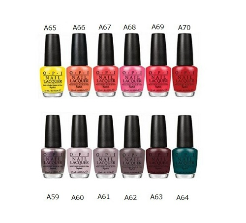 L: 15 ml of new ○ new color OPI nail lacquer Brazil collection A59 ...