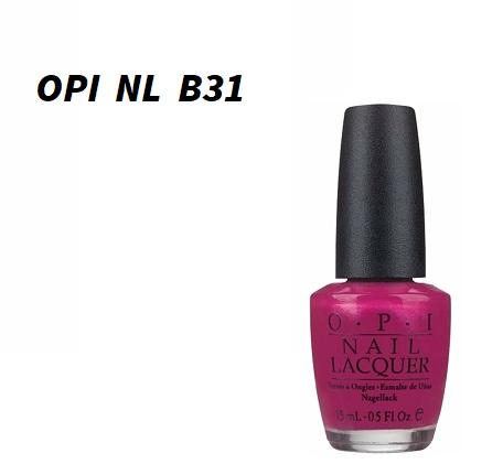 Brand New Opi Opi Flashbulb Fuchsia Nl B31 15ml Nail Lacquer Nail Artist Self Nail Manicure Cheap Opi Color Lows Challenge Nail Color Nail Polish