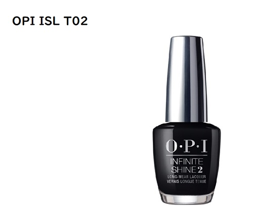 L: New dry-OPI INFINITE SHIN infinitschein Black Onyx ISL T02 15ml ...