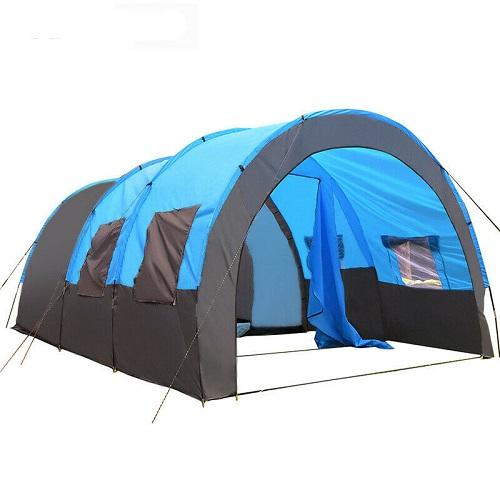 送料無料 新品 テント 防水 トンネル キャンプ ピクニック 登山 屋外 パーティー 旅行 ハイキング 家族