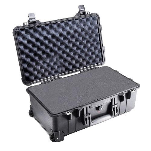 PELICAN ハードケース 1510 ウレタンタイプ フォーム 1510用 ブラック ペリカン 黒 防水中型ケース カメラケース 新品 【送料無料】