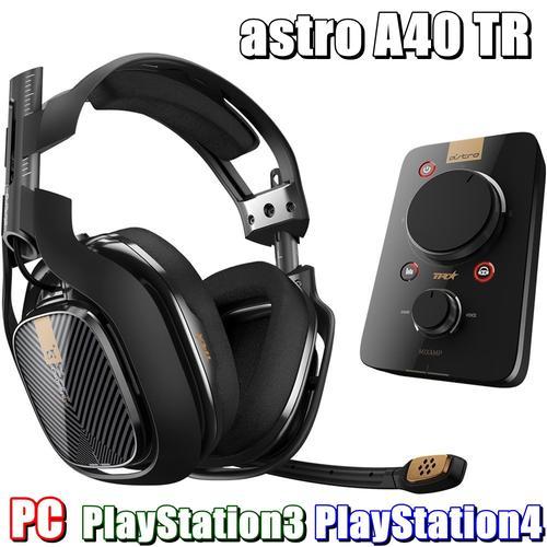 送料無料 新品●有線サラウンドサウンド ゲーミング ヘッドセット ●Astro A40 TR + MIXAMP Pro TR ヘッドセット アンプ ヘッドホン T