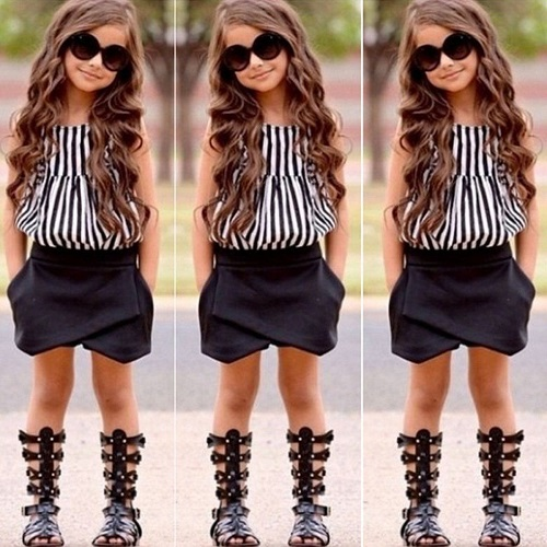 New Childrens Clothes For Girls Size 5 2 7 Year Old Baby Child Children Clothing 100 110 120 130 140 Real Cheap