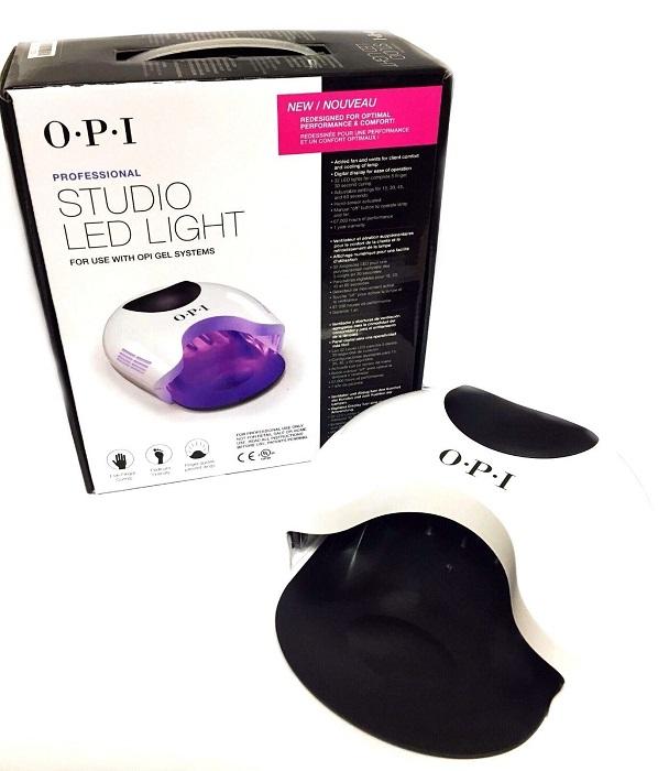 送料無料 新品 オーピーアイ OPI STUDIO LIGHT LEDライト 32個のLEDライト搭載 ネイルランプ LEDランプ 最大54W OPI ジェルネイル ネイリスト