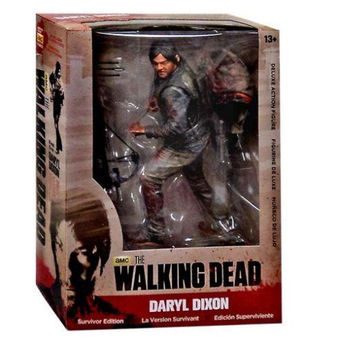 為新的未開封麥克法蘭步行死 Darryl 倖存者版麥克法蘭玩具行屍走肉的達里爾 · 迪克森倖存者系列 10 英寸行動圖 Y