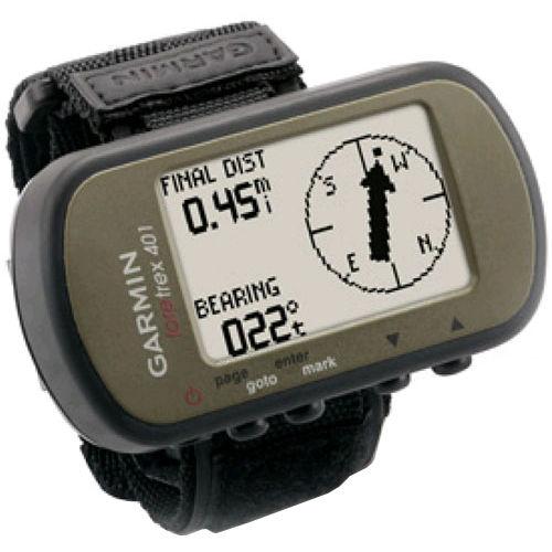送料無料 新品●Garmin Foretrex 401 ガーミン GPSウォッチ ハンズフリー高感度GPSチップ搭載●日本語説明書付  ランニング サイクリング ウォーキング ハンズフリーGPS