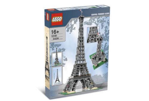 送料無料 新品(箱には痛み有) レア物●LEGO レゴ 10181 エッフェル塔 Eiffel Tower●希少