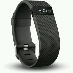 予約注文(2週間待ち) 送料無料 新品 Fitbit Charge HR Lサイズ 活動量計 ウェアラブル端末 フィットビット 百