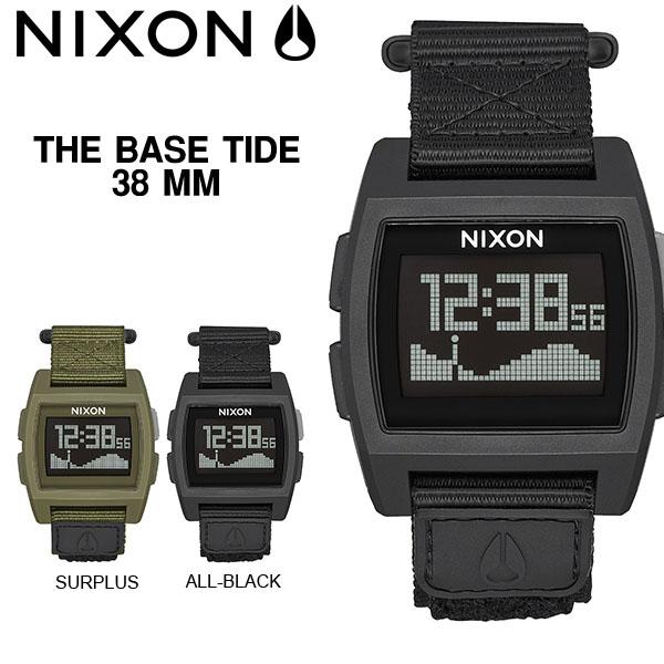 送料無料 ニクソン NIXON ベース タイド THE BASE TIDE NYLON 日本正規品 腕時計 リストウォッチ メンズ レディース スケートボード サーフ アウトドア ウォッチ