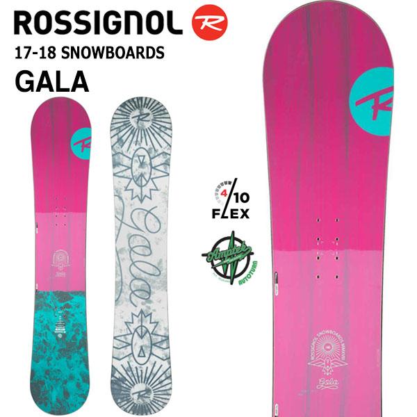 送料無料 ROSSIGNOL ロシニョール スノーボード 板 GALA REGWC24 ロッカー キャンバー レディース スノボ 国内正規代理店品