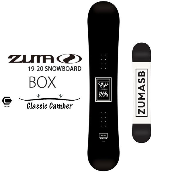 送料無料 ZUMA ツマ スノーボード 板 BOX ボックス キャンバー メンズ ボード スノボ 150 153 158 Swallow Ski 紳士 得割35