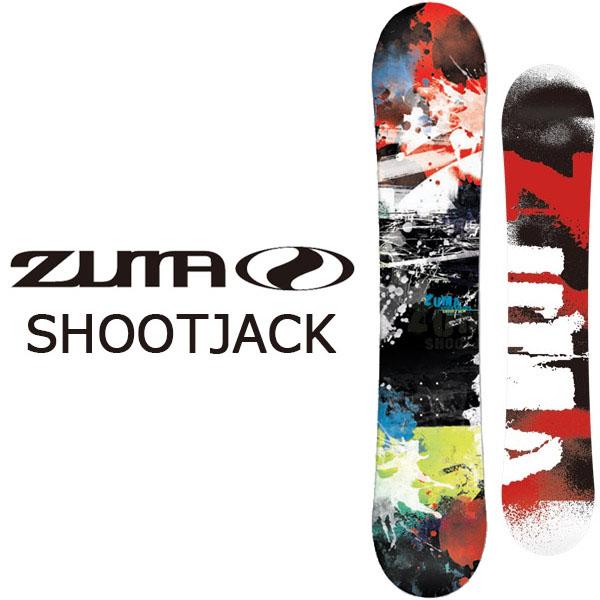送料無料 ZUMA ツマ スノーボード 板 SHOOTJACK シュートジャック フラットロッカー メンズ ボード スノボ 150 153 Swallow Ski 紳士