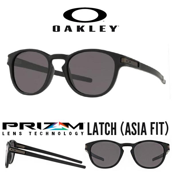 送料無料 サングラス OAKLEY オークリー LATCH ラッチ Prizm Grey 日本正規品 アジアンフィット 眼鏡 アイウェア oo9349 1953 得割20
