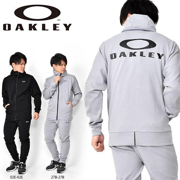 得割33 送料無料 フリース 上下セット OAKLEY オークリー メンズ ジャケット ロングパンツ 上下組 ストレッチ ビッグロゴ スポーツ トレーニング ウェア 日本正規品 FOA400152 FOA400821 2020春夏新作