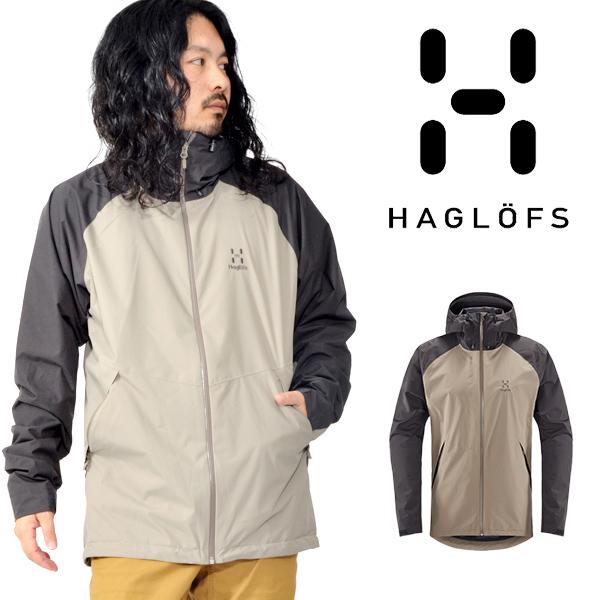 送料無料 防水 シェル ジャケット Haglofs ホグロフス Esker Jacket エスカー ジャケット メンズ マウンテン クライミング 国内正規品 603503
