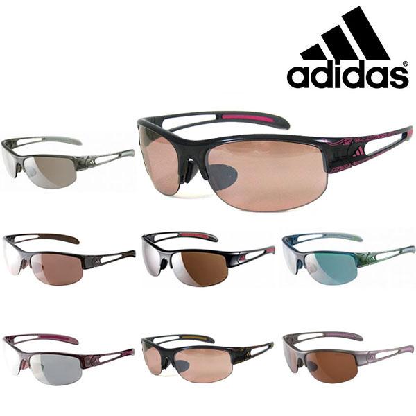 送料無料 スポーツサングラス アディダス adidas レディース a389 ADILIBRIA HALFRIM S ランニング マラソン ゴルフ 釣り 自転車 テニス サイクリング 紫外線対策 UVカット 得割30