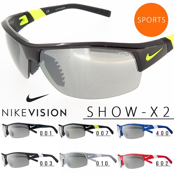 送料無料 スポーツサングラス ナイキ NIKE SHOW-X2 NKE VISION ナイキ ヴィジョン ゴルフ ランニング テニス サイクリング 自転車 紫外線対策 UVカット