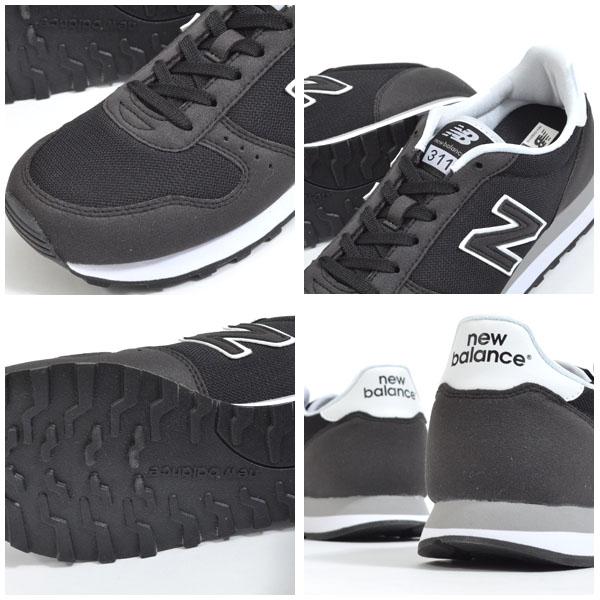 送料無料スニーカーニューバランスnewbalanceML311メンズレディースカジュアルシューズ靴ブラックグレー2019秋新色