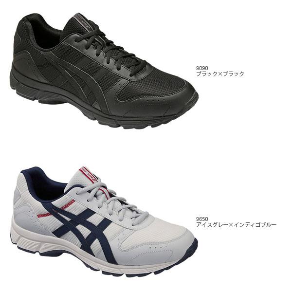 走路用的鞋亚瑟士asics GEL-FUNWALKER214凝胶迷沃克人4E宽大的运动鞋鞋行走2016新颜色TDW214