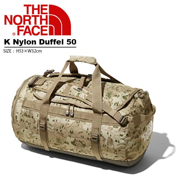 送料無料 ダッフルバッグ THE NORTH FACE ザ・ノースフェイス K Nylon Duffel 50 ナイロンダッフル50L リュックサック キッズ 子供 2019春夏新作 林間学校 2way キャンプ 泊まり nmj81800