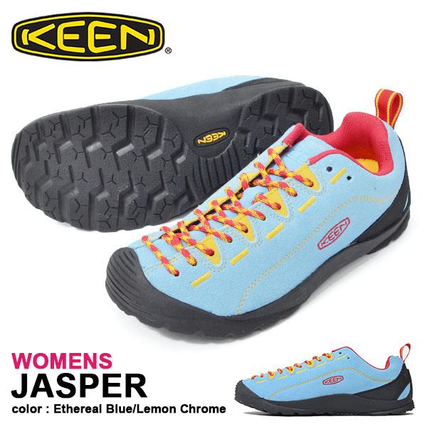 送料無料 スニーカー KEEN キーン レディース JASPER ジャスパー Ethereal 1020331 替え紐つき クライミング アウトドア ハイキング フェス シューズ 靴 2019春夏新作