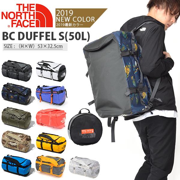 送料無料 ザ・ノースフェイス バッグ THE NORTH FACE ベースキャンプ ダッフルS BC DUFFEL S 50L nm81815 ダッフルバッグ ボストンバッグ アウトドア 2019春夏新色 バックパック リュックサック ザ ノースフェイス