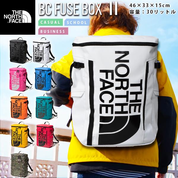 ノースフェイス 送料無料 THE NORTH FACE ベースキャンプ ヒューズボックス 2 BC FUSE BOX 2 NM82000 30L ザック 2020春夏新作 バックパック リュックサック かばん スクエア型 メンズ レディース バッグ