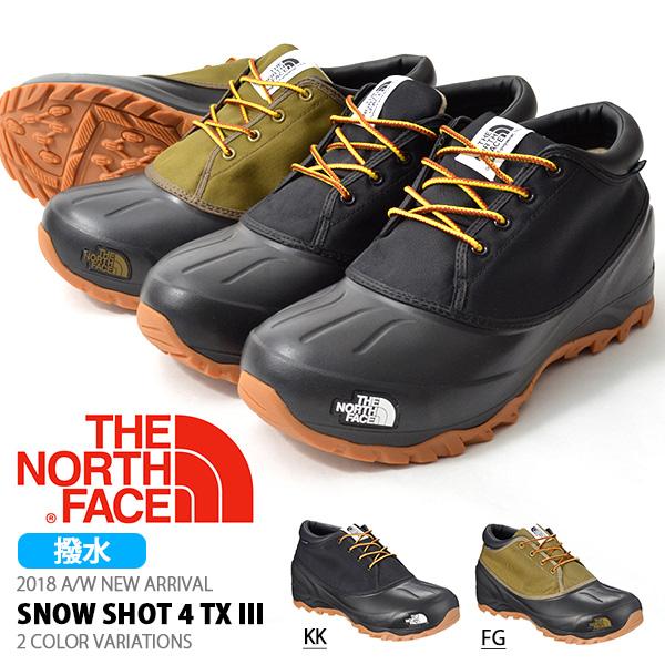 送料無料 ザ・ノースフェイス THE NORTH FACE メンズ レディース Snow Shot 4 TX III スノーショット4 テキスタイル3 アウトドアシューズ ウインターブーツ スノーブーツ スノトレ 撥水 シューズ 靴 nf51862 ザ ノースフェイス 2018秋冬新作