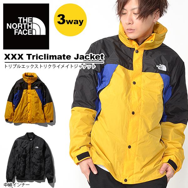 2019春新色 送料無料 3way ジャケット THE NORTH FACE ザ・ノースフェイス メンズ XXX Triclimate Jacket トリプルエックストリクライメイトジャケット 中綿インナー アウトドア マウンテン np21730
