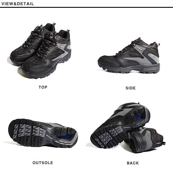 只现货!! 徒步旅行鞋邓禄普DUNLOP人都市传统宽度4E防水运动鞋鞋行走登山山间途步